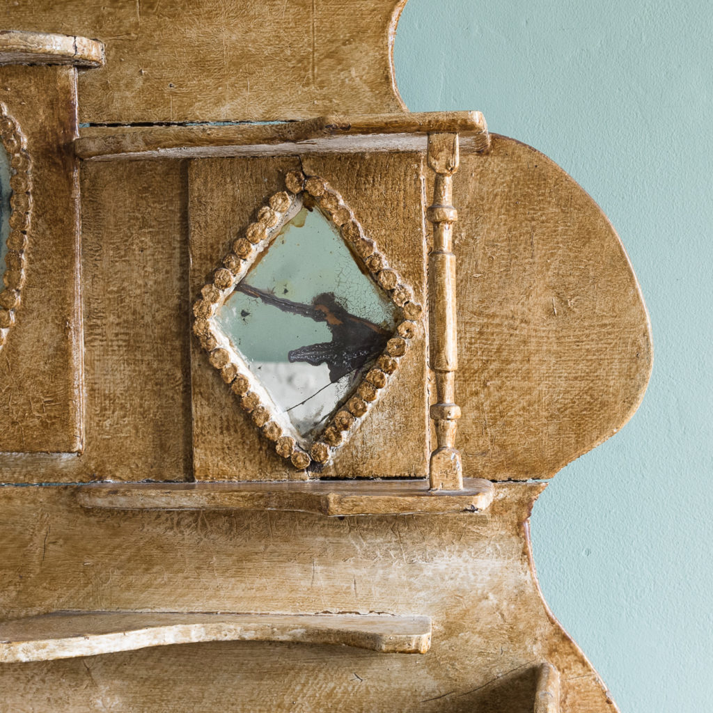 Early twentieth century tramp art dresser,-119490