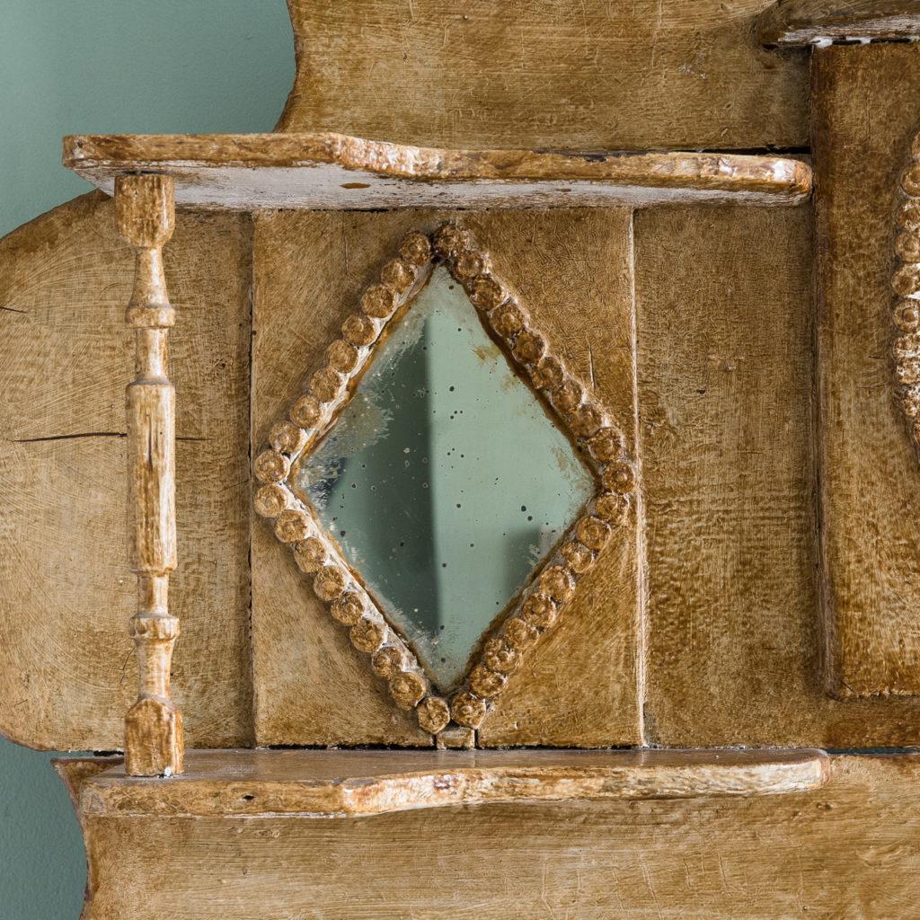Early twentieth century tramp art dresser,-119500