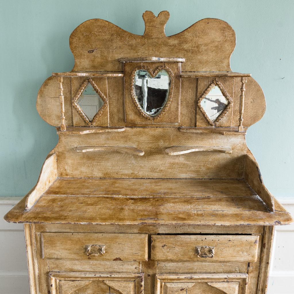Early twentieth century tramp art dresser,-119499