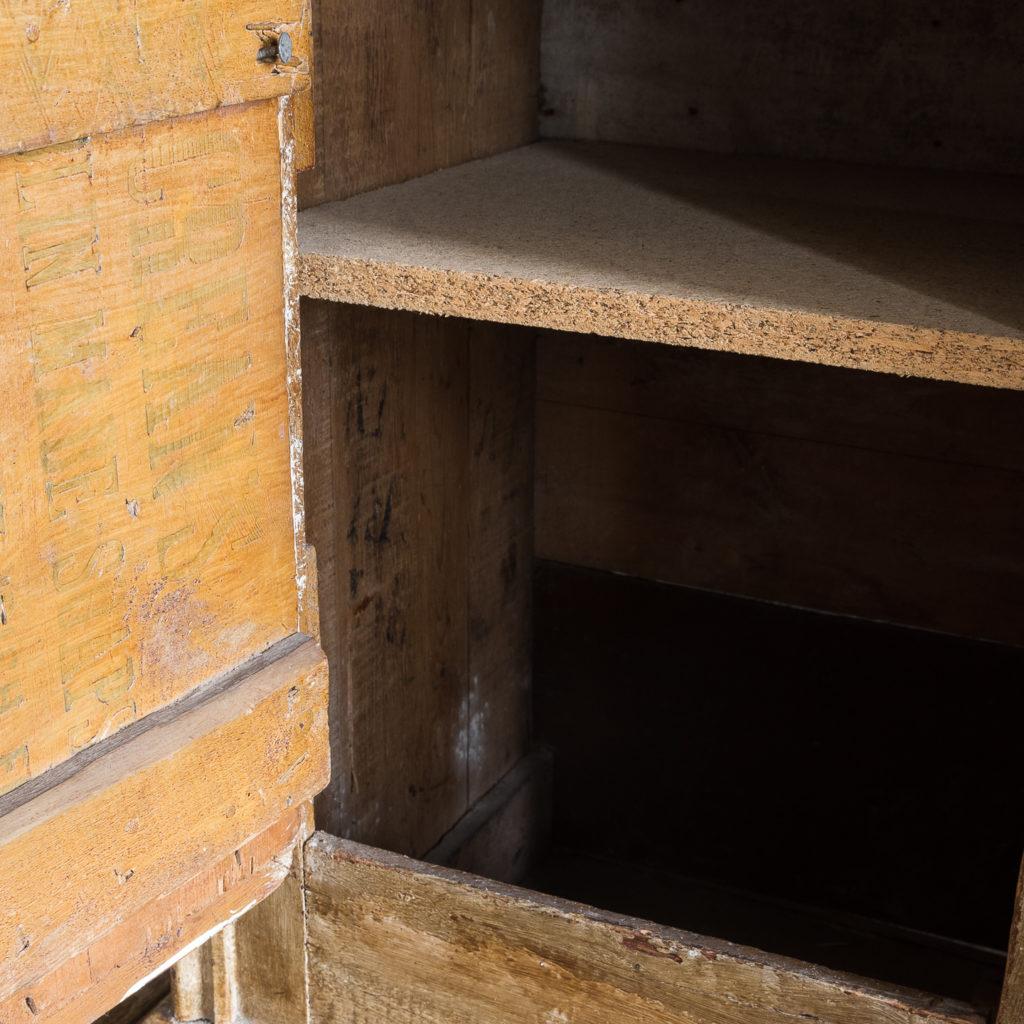 Early twentieth century tramp art dresser,-119484