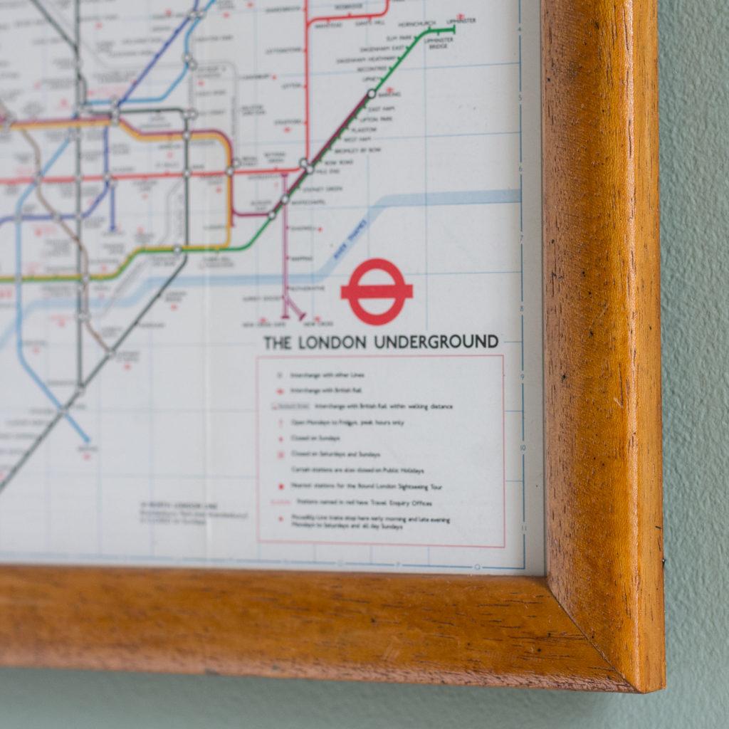 1977 London Underground Transport map,-118832