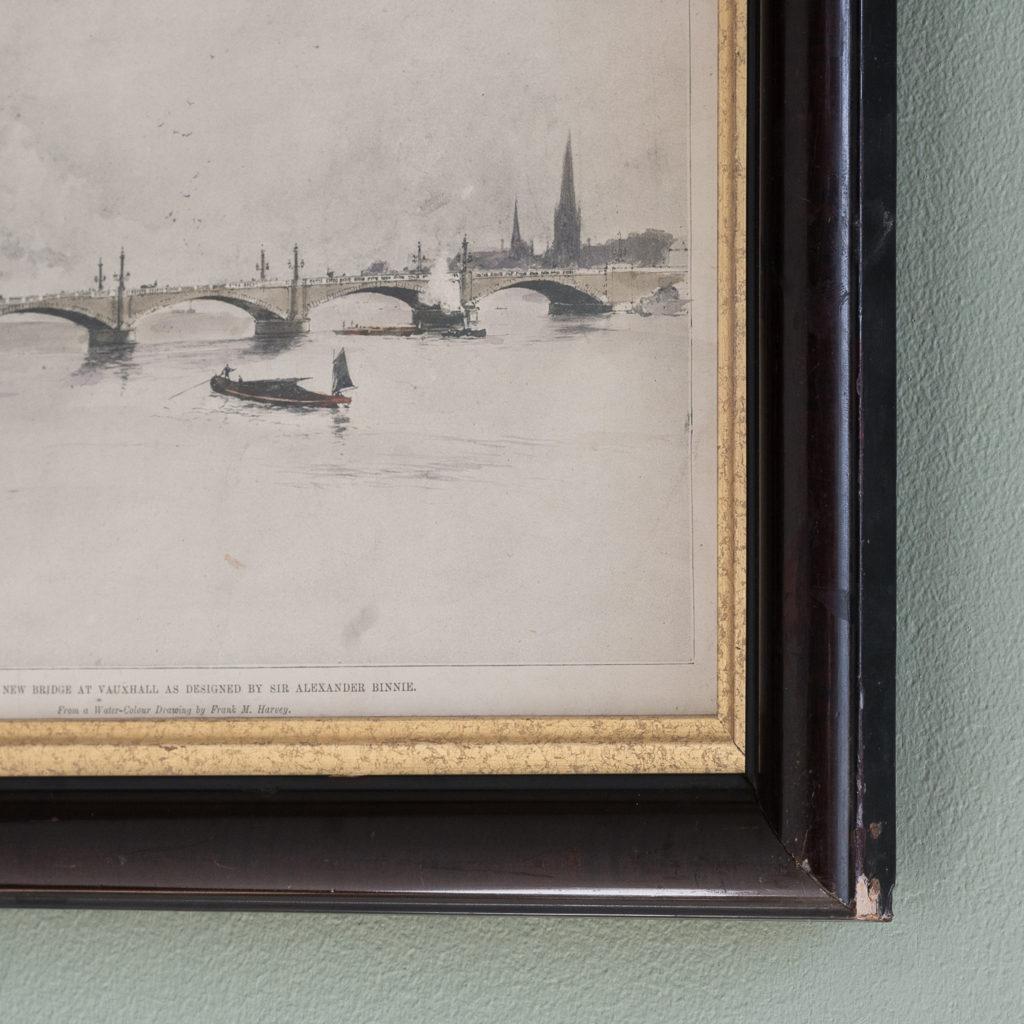 Proposed New Bridge at Vauxhall as designed Sir Alexander Binnie-119628