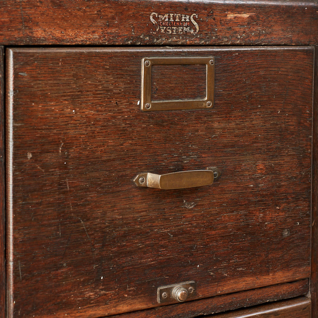 Reclaimed industrial wooden filing cabinet,-120666