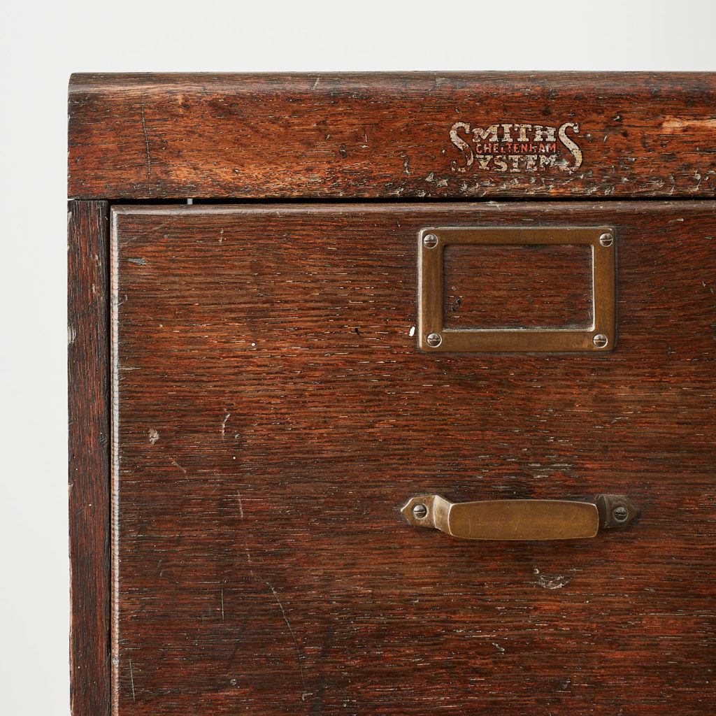 Reclaimed industrial wooden filing cabinet,-120668