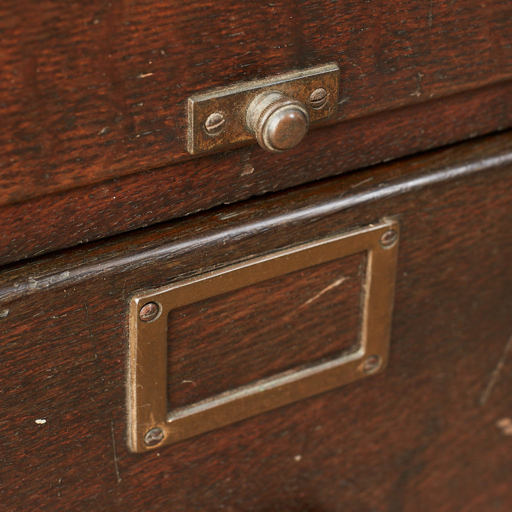 Reclaimed industrial wooden filing cabinet,-120674