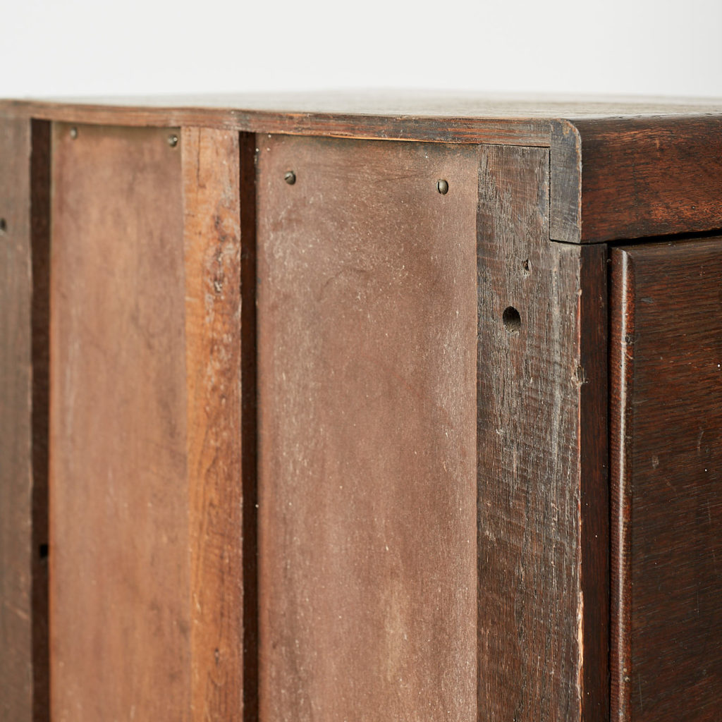 Reclaimed industrial wooden filing cabinet,-120667