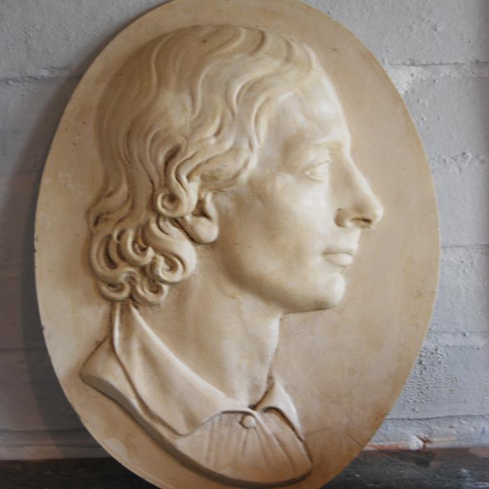 John Keats relief