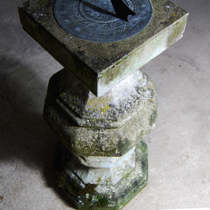 antique sundial