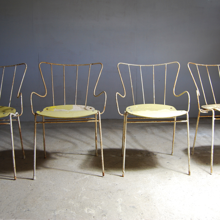 "Ernest Race ""Antelope"" Chairs"