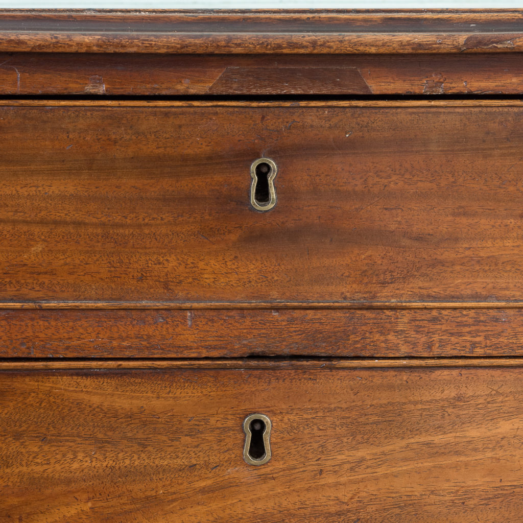 George III diminutive mahogany chest of drawers,-120333