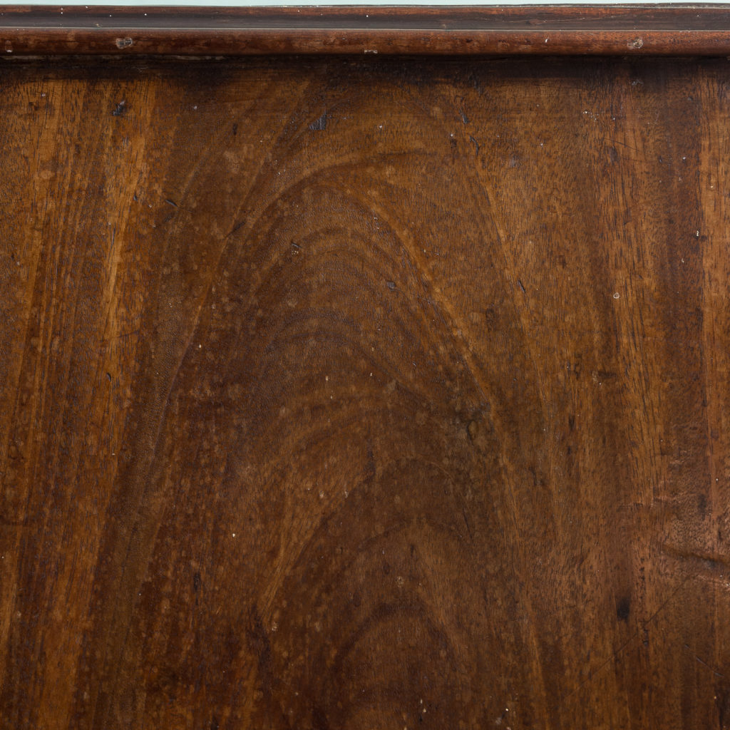 George III diminutive mahogany chest of drawers,-120350