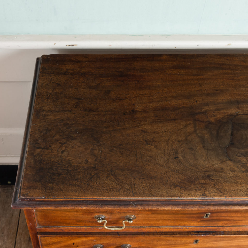 George III diminutive mahogany chest of drawers,-120339