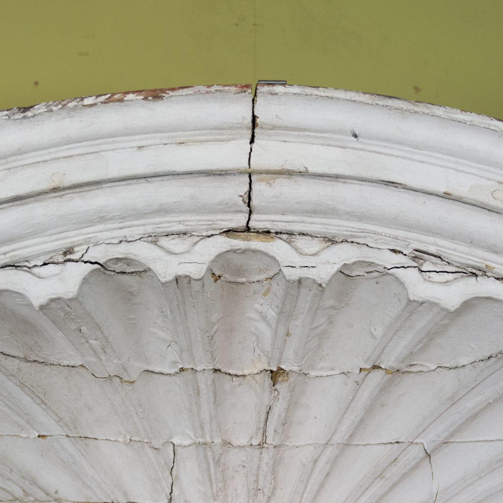 Queen Anne style shell door hood,-120936