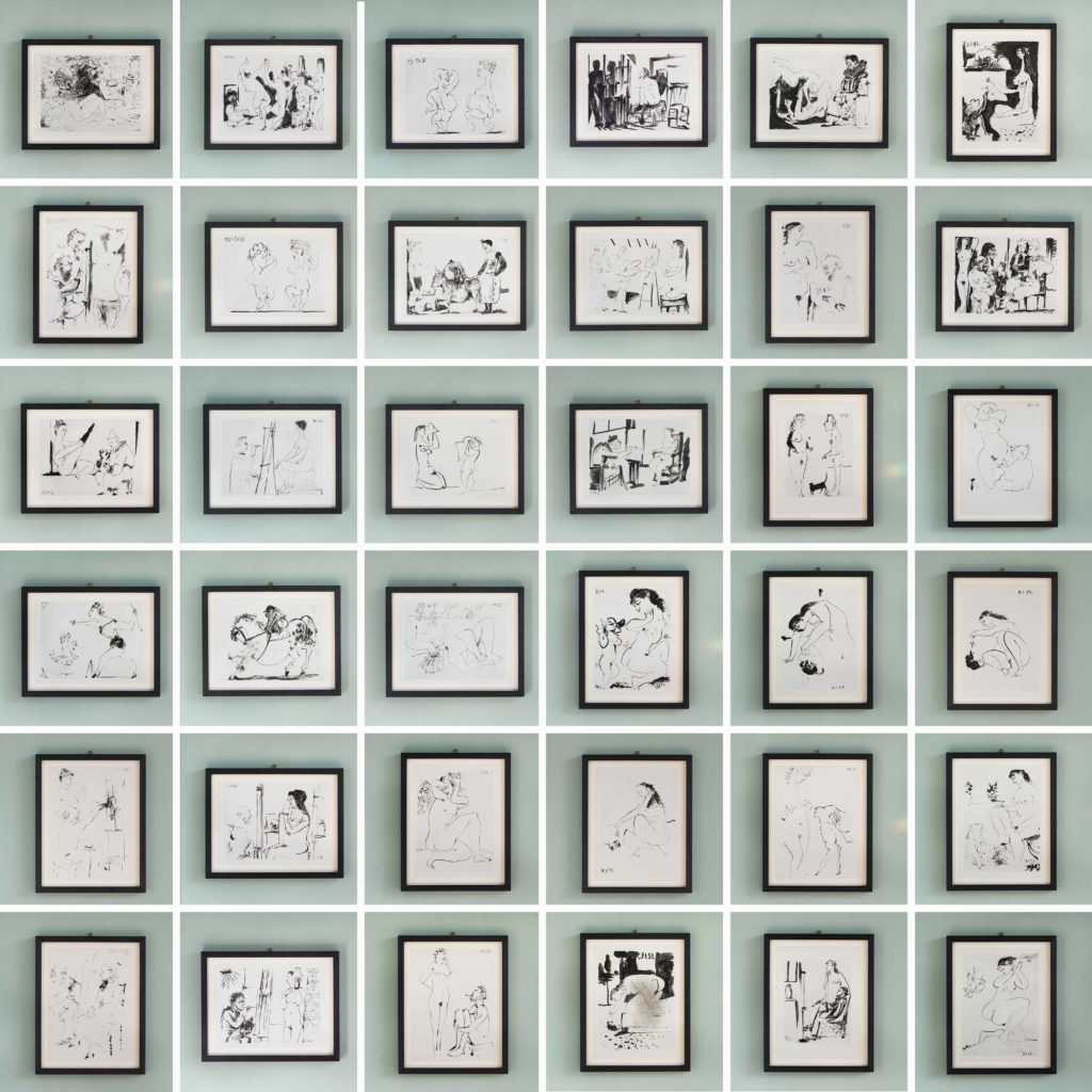 'Verve' by Pablo Picasso; lithographs printed by Mourlot 1954-120017