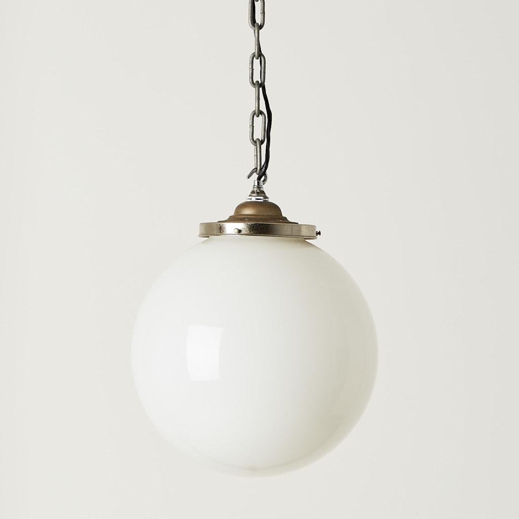 Opaline globe light-0