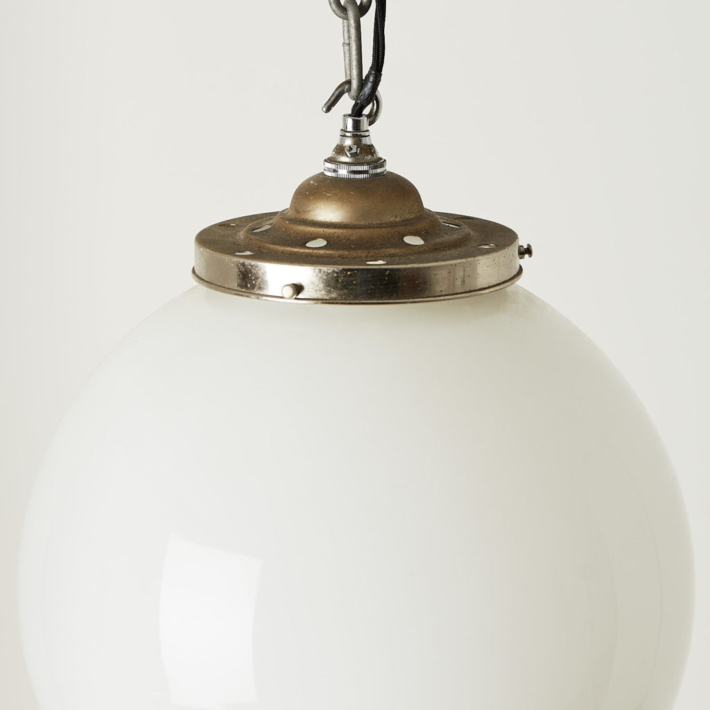 Opaline globe light-121534