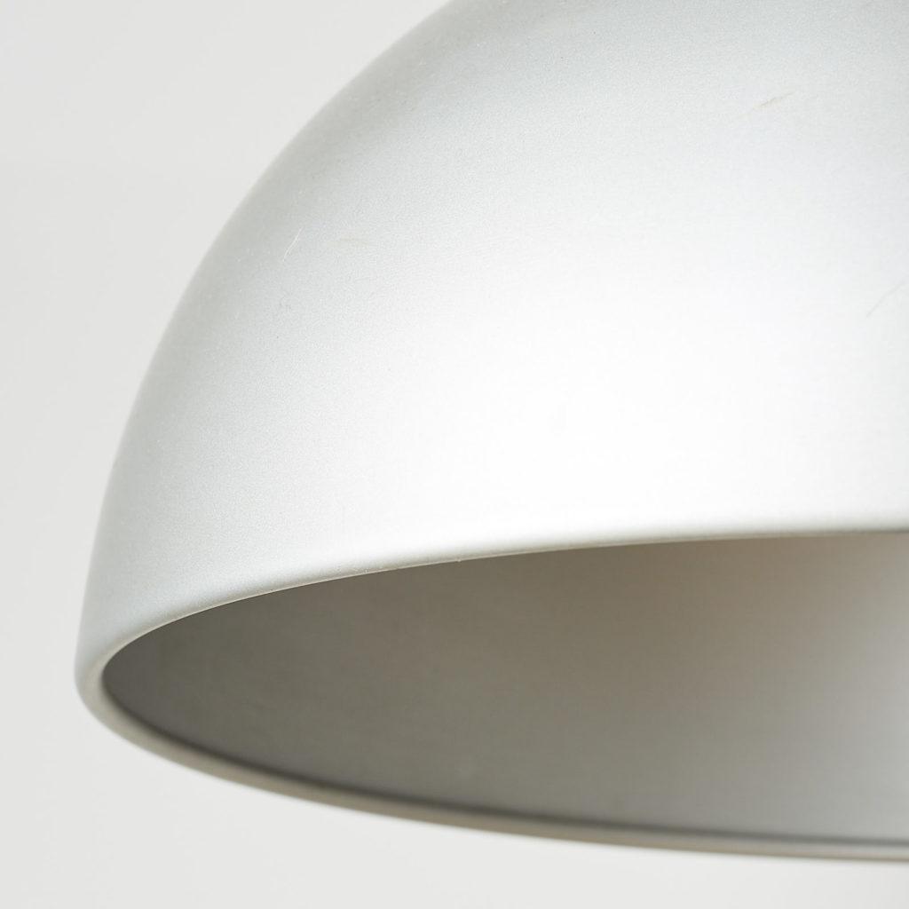 Silver dome pendant light, -121632