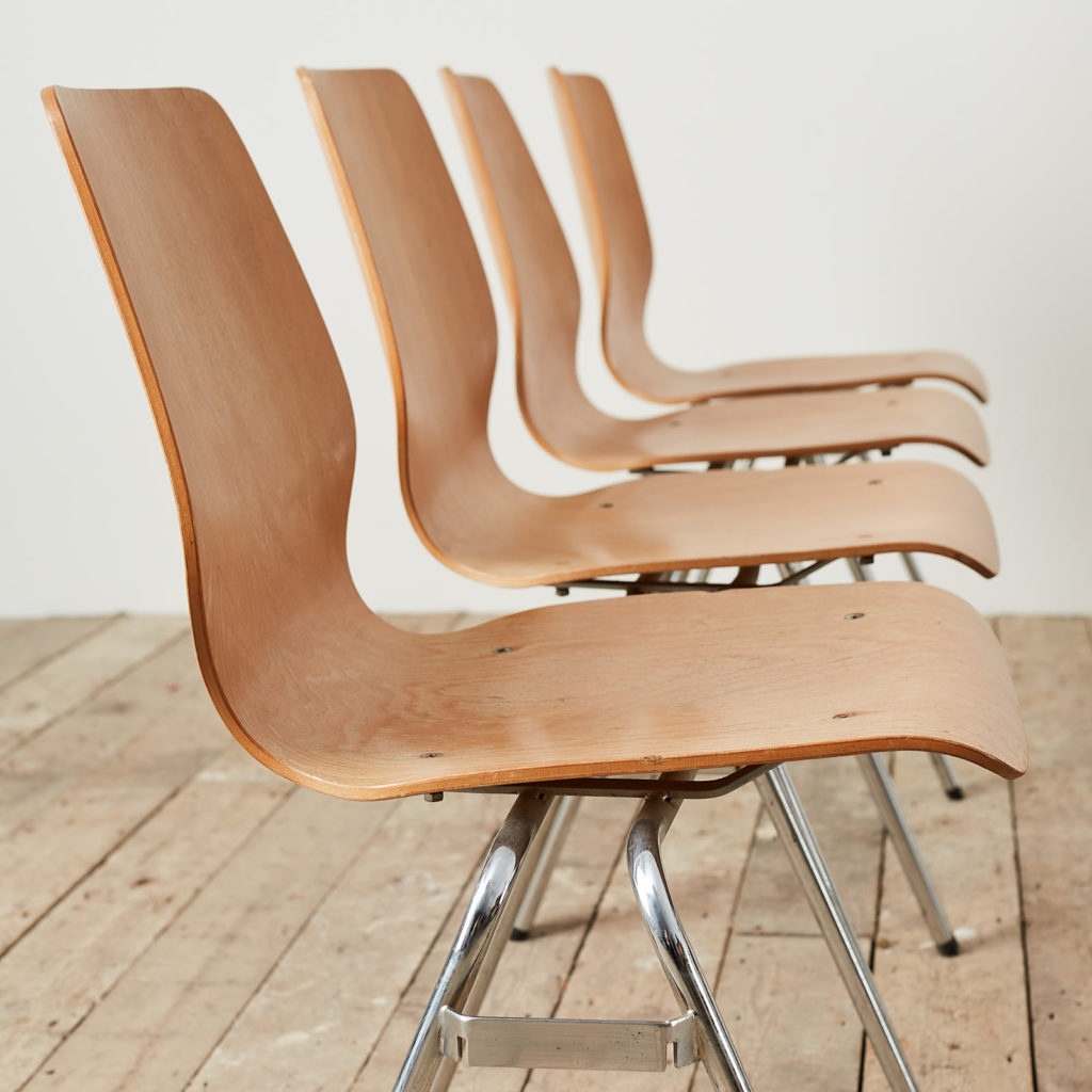 Plywood stacking chair,-121734