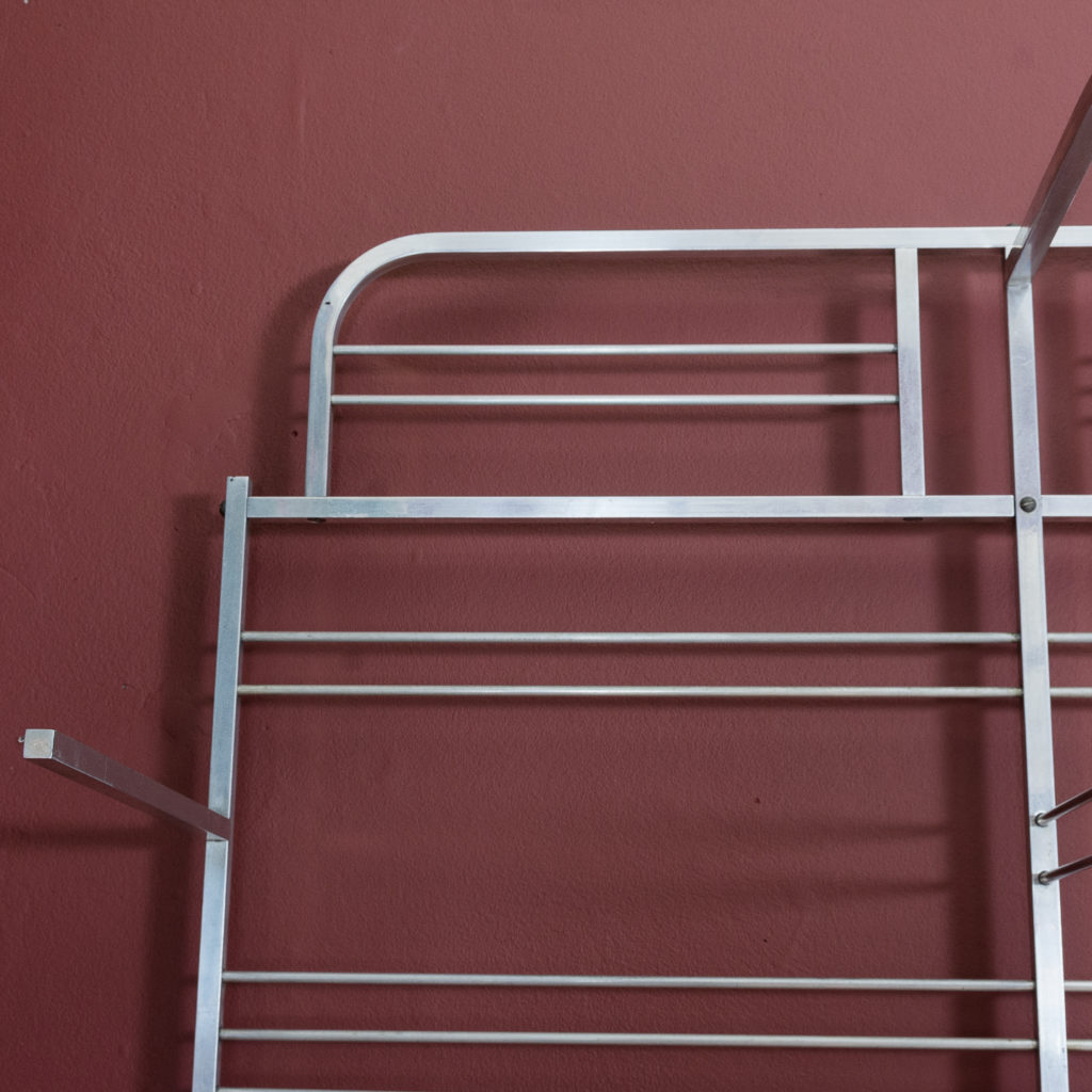 Mid-twentieth century French aluminium baker's rack,-121995