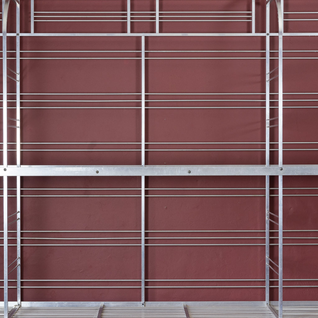 Mid-twentieth century French aluminium baker's rack,-121993