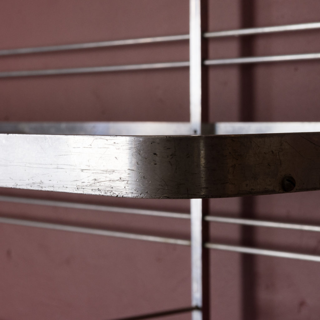 Mid-twentieth century French aluminium baker's rack,-121998