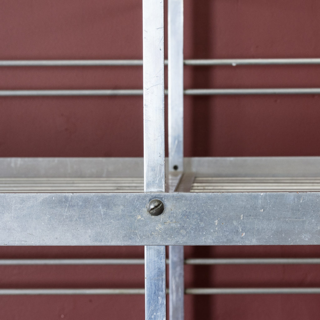 Mid-twentieth century French aluminium baker's rack,-121999
