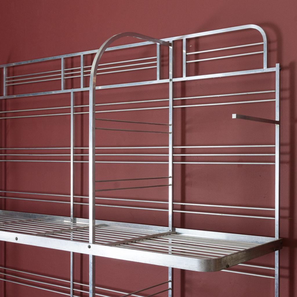 Mid-twentieth century French aluminium baker's rack,-122000