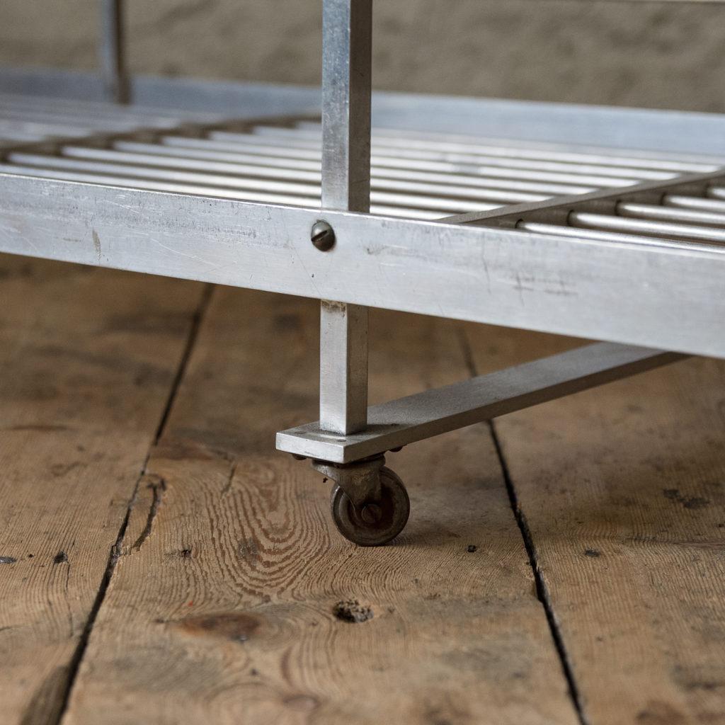 Mid-twentieth century French aluminium baker's rack,-122003