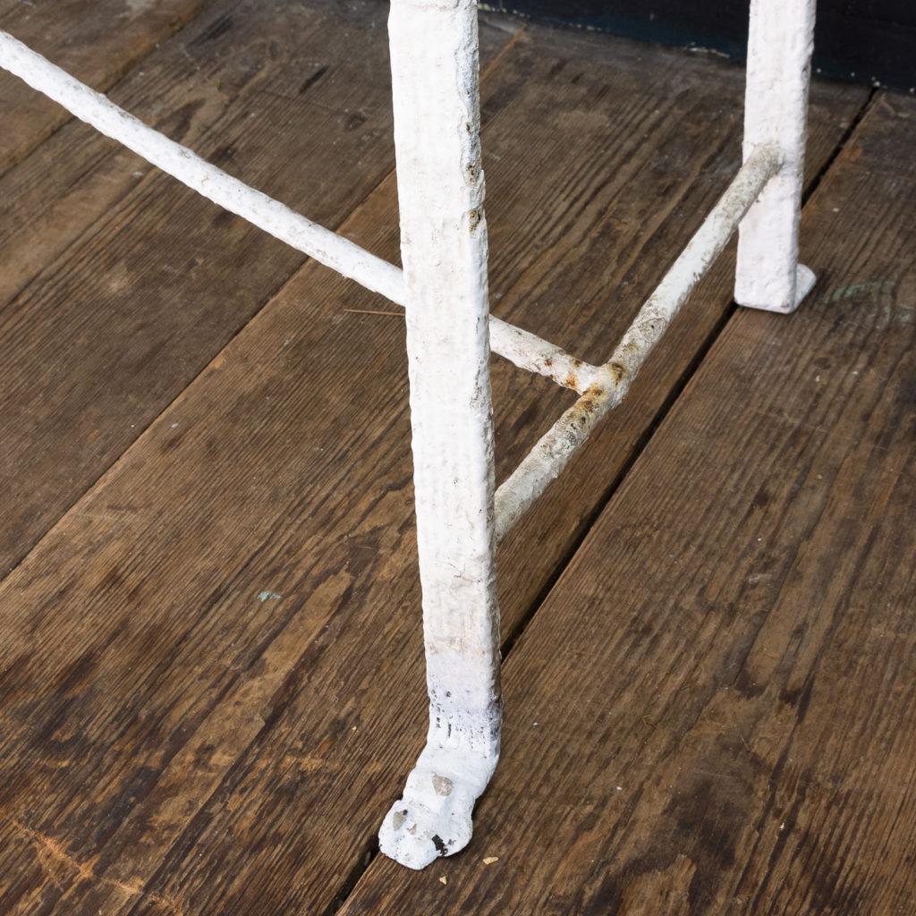 Regency wrought iron bench,-122458
