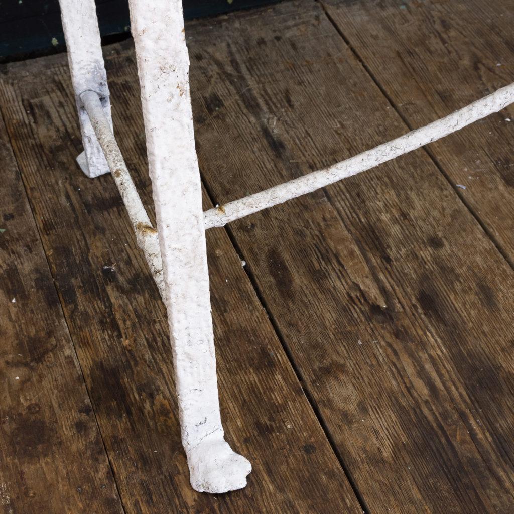 Regency wrought iron bench,-122453