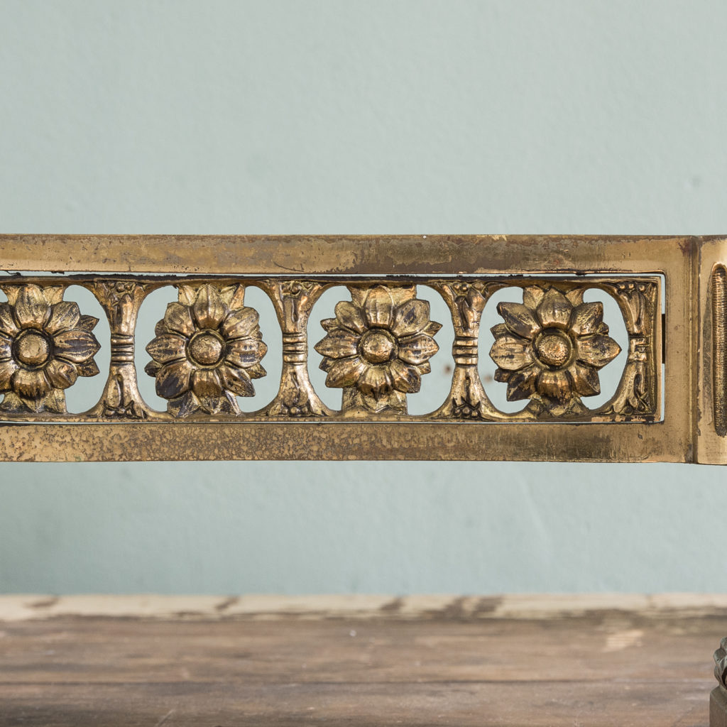 Pair of nineteenth century French chenets,-121233