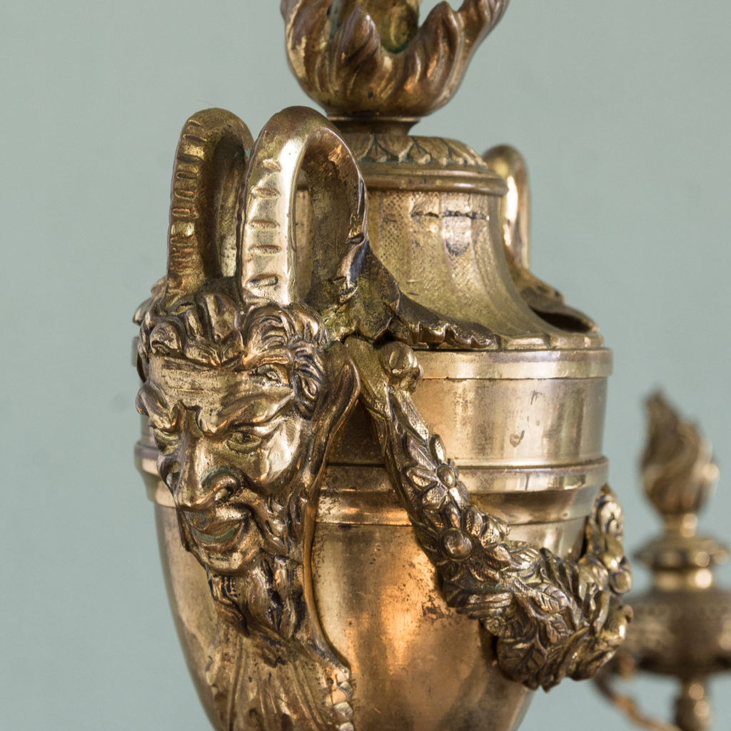 Pair of nineteenth century French chenets,-121245