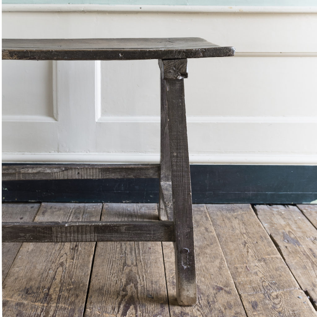 Spanish walnut tavern table,-122231