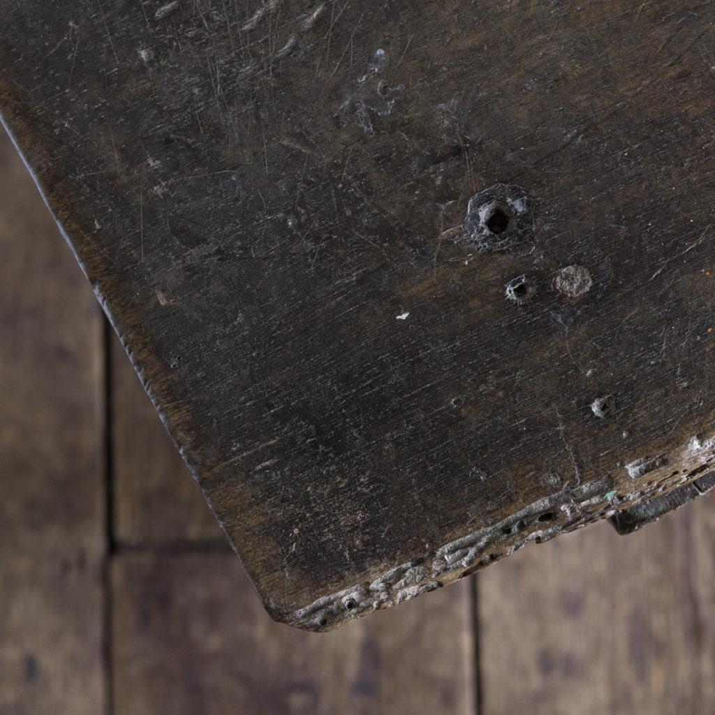 Spanish walnut tavern table,-122235