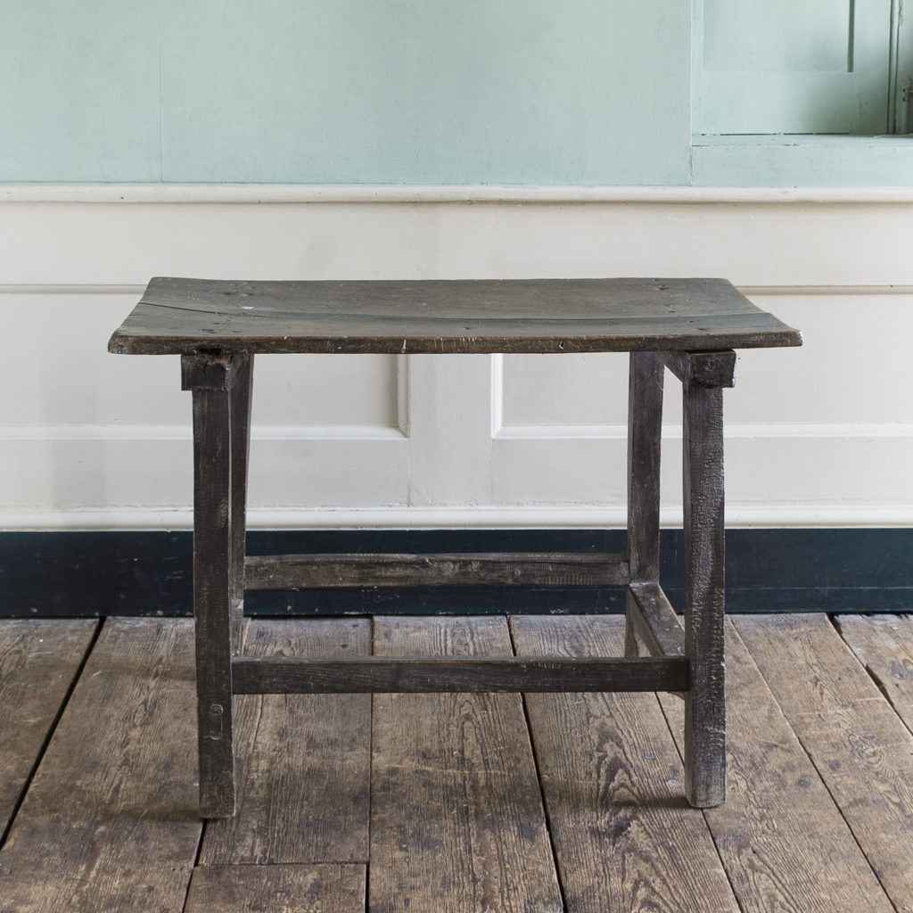 Spanish walnut tavern table,-122239