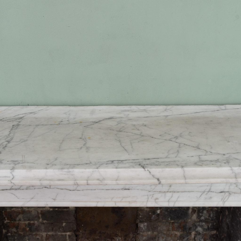 Edwardian pencil vein marble chimneypiece,-122218