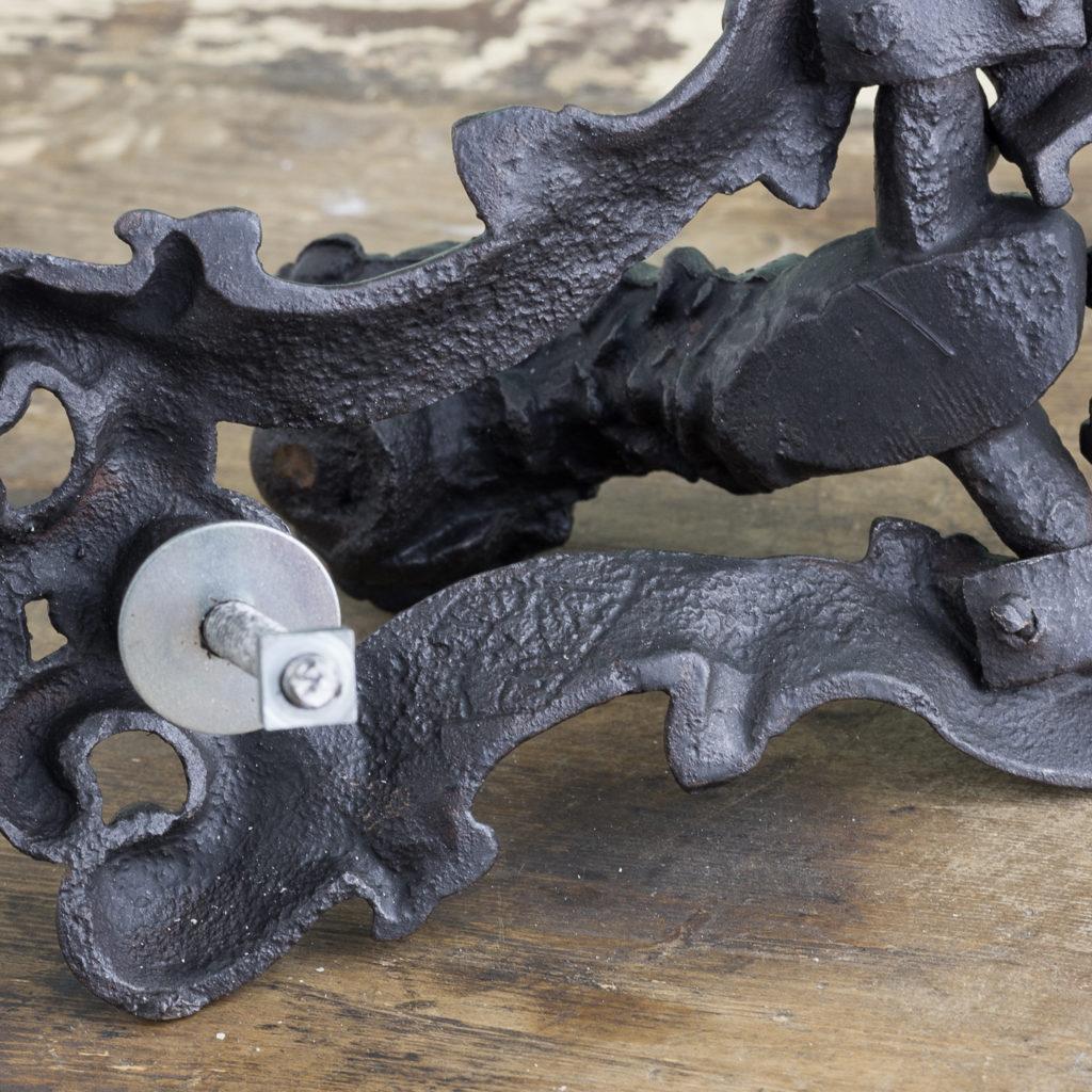 Victorian cast iron door knocker,-122245