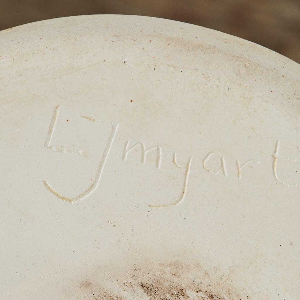 Plaster cast hand candle holder,-122645