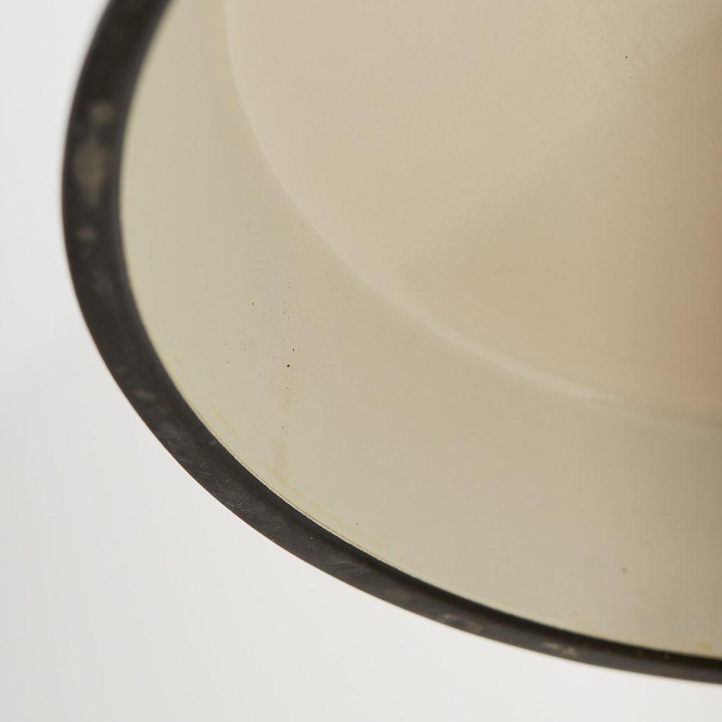 Black enamel light shade,-122835