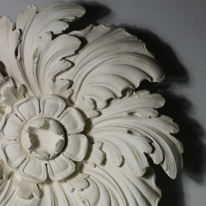 leafy ceiling rose