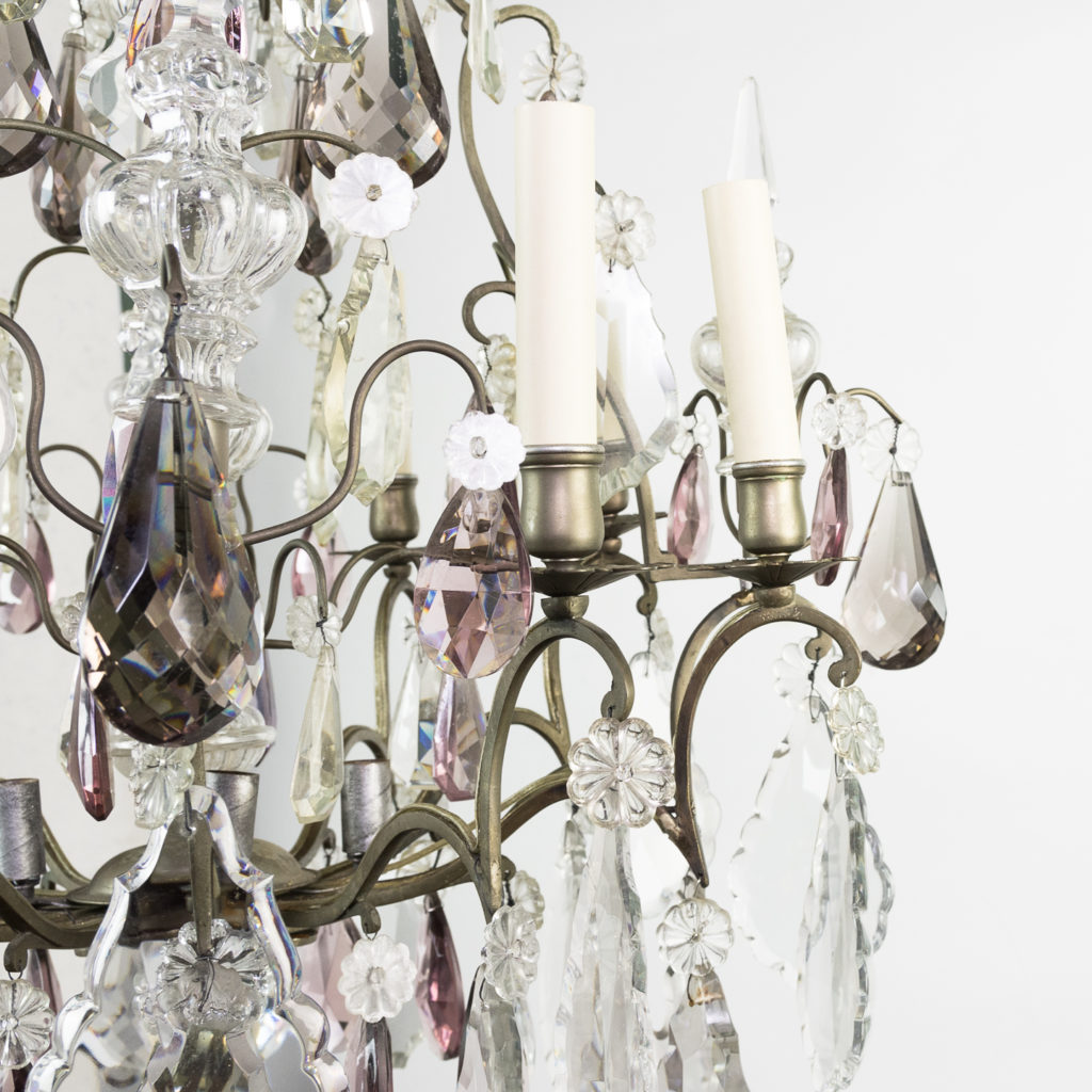 Mid-twentieth century French Louis XVI style chandelier, -123119