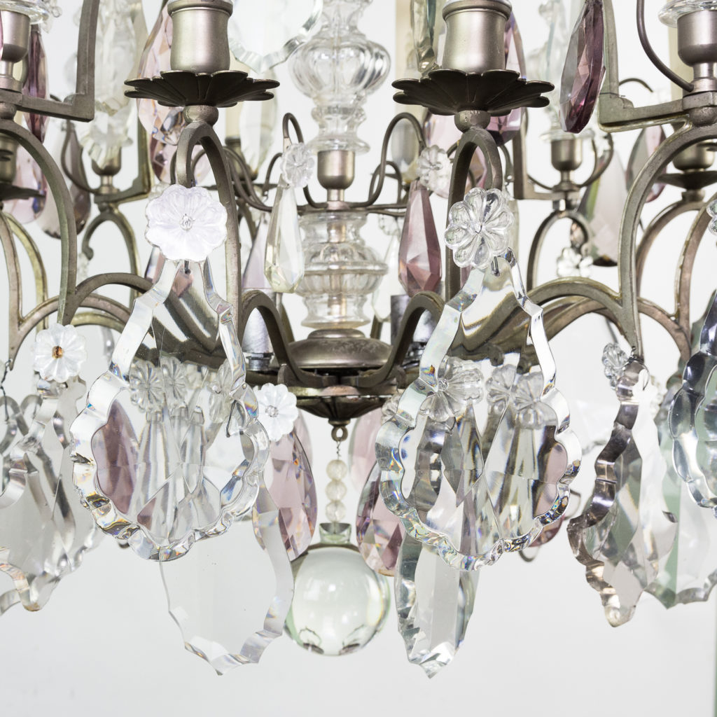 Mid-twentieth century French Louis XVI style chandelier, -123116