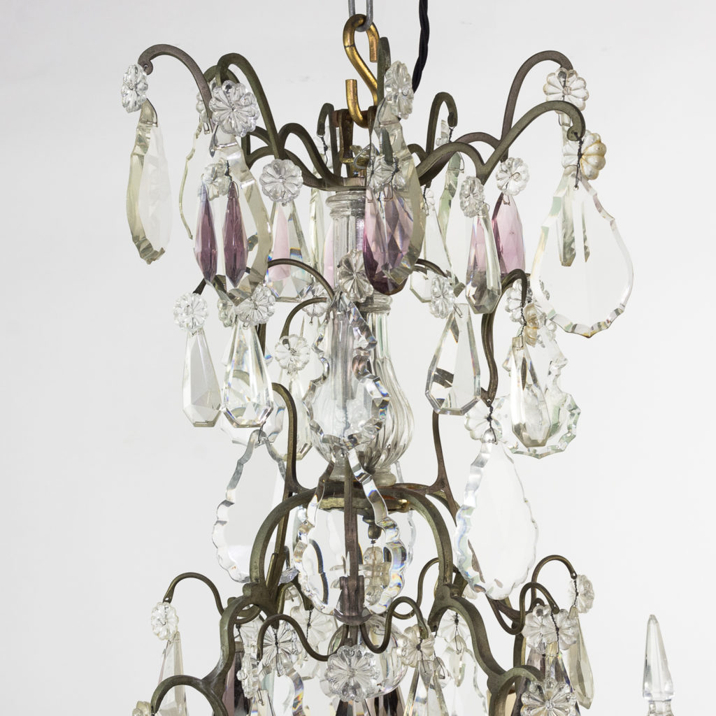 Mid-twentieth century French Louis XVI style chandelier, -123118