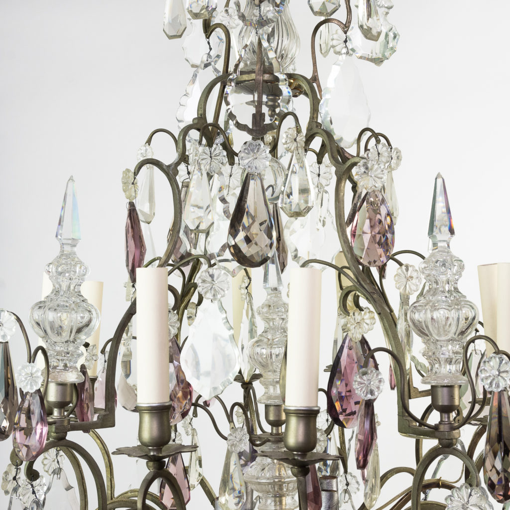 Mid-twentieth century French Louis XVI style chandelier, -123112
