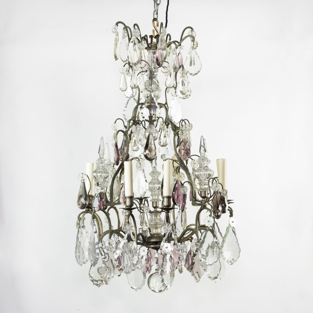Mid-twentieth century French Louis XVI style chandelier,