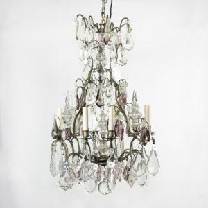 Mid-twentieth century French Louis XVI style chandelier,