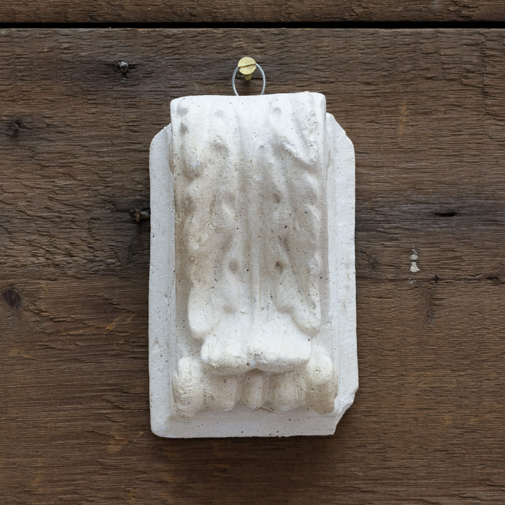 Victorian cast plaster modillions