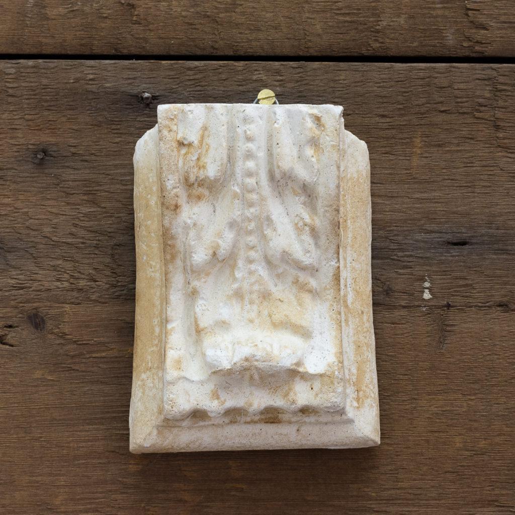 Victorian cast plaster modillions,