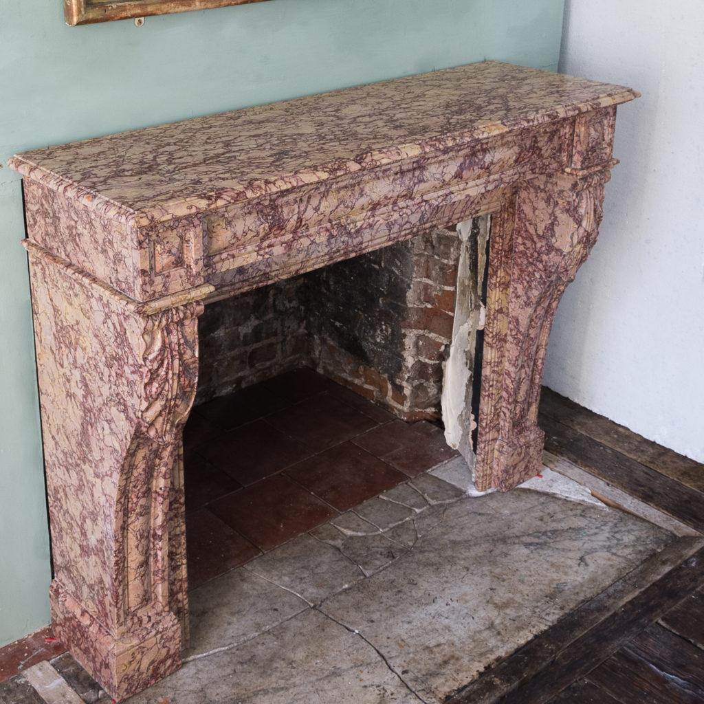 Victorian brass door furniture suite,-123065