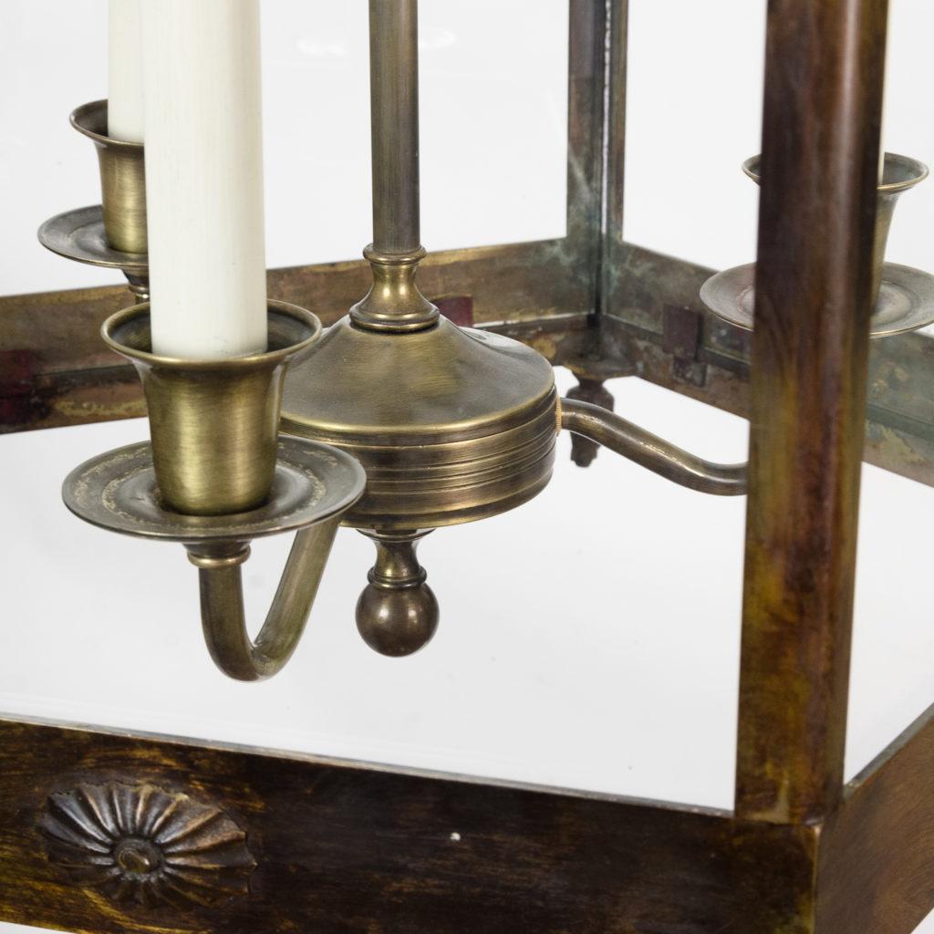 Late nineteenth century French Empire style hall lantern, -122581